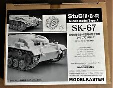 MODELKASTEN SK-67 - StuG III (B-F) - CINGOLI TRACKS - 1/35 PLASTIC KIT