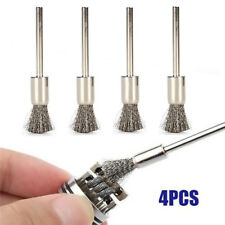 4Pcs Mini Cleaning Tool For Rda Coil Tank Stainless Steel Wire Clean Brush Gnca