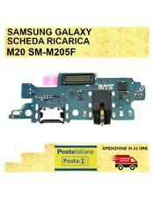 CONNETTORE RICARICA PER Samsung Galaxy M20 SM-M205F CARICA JACK DOCK MICROFONO