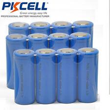 12pcs Lithium 26650 3.7V Rechargeable Li-ion Battery Genuine 4000mAh Flat Head