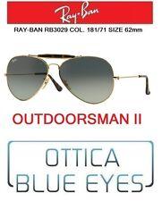 Occhiali da sole RAYBAN OUTDOORSMAN II Ray Ban rb 3029 181/71 62mm Sunglasses