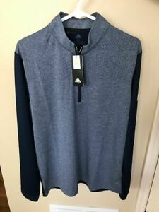 New With Tags- Adidas Men's Medium 1/4 Zip Pullover