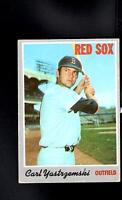 1970 Topps # 10 Carl Yastrzemski Vg-Ex