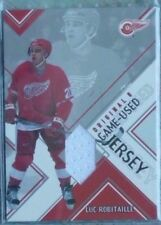 2003-04 Parkhurst Original Six Detroit Red Wings Game-Used Jersey Luc Robitaille