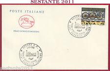 ITALIA FDC CAVALLINO FERROVIE ITALIANE TRENO A VAPORE VERONA BOLZANO 1989 U252