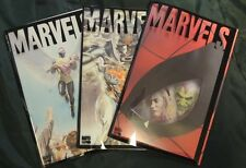 Marvel Comics set  acetate/poly covers MARVELS Vol 1, Book # 2 3 4  new