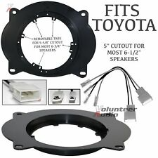 """Scosche 2003 -Up Toyota Speaker Front Adapter Plates 6.5"""" - 6 3/4"""" + Harness"""
