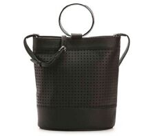 VINCE CAMUTO ABRIL LEATHER CROSSBODY BAG/$198/ NWT/ Black