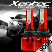 XENTEC LED HID Headlight Conversion kit 9006 6000K for 2004-2009 Cadillac SRX