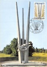 Carte Maximum FDC France BALLON D'ALSACE MONUMENT DEMINEURS 1975 LEPUIX