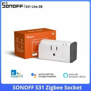 Sonoff S31 Lite ZigBee Smart Plug Switch Socket Power WIFI APP Remote Control US