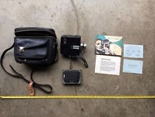 B&H Zoom Reflex - Crank Tape Video Camera - W/ Instructions & Leather Case