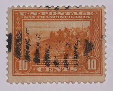 Travelstamps: 1913 US Stamps Scott #400A 10c Panama-Pacific Used No Gum