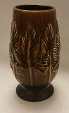 SylvaC 4215 Vintage Sycamore, Brown Vase Vintage Home Décor Made in England