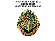 Harry Potter House HUFFLEPUFF embroidered Iron on Patch Crest Badge High Quality