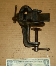 Vintage Stanley Vise,Anvil on Top,SW Heart Logo,No.761,USA,Old Clamp Tool,NICE!
