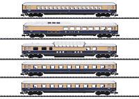 """Trix Minitrix 15870 Personenwagen-Set """"Rheingold 62"""" der DB 5-teilig #NEU in OVP"""