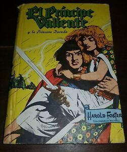 PRINCE VALIANT and the Golden Princess  ARGENTINA book 1961 HAL FOSTER