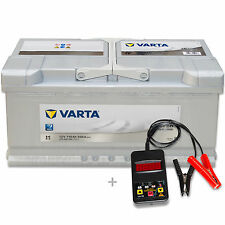 Varta Silver Dynamic I1 - 12 V / 110 Ah - 920 A/EN Autobatterie KFZ inkl. Tester