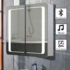 Badezimmer-Beleuchtung mit LED spiegelschränke Silber günstig kaufen ...