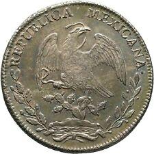 Mexiko 8 Reales 1827 ERHALTUNG Mexico Coin Münze (D98)