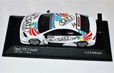 Minichamps Opel V8 Coupè DTM 2001 Euroteam  A. Menu #16 1:43 OVP