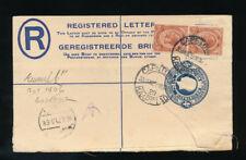 Südafrika, Registered Letter 1925 from Kapstadt to Berlin  H10)