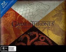 Game Of Thrones : Season 1 (Blu-ray, 2012, 5-Disc Set)