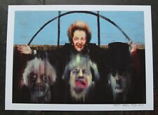 Party - Open Edition A4 Print - Wefail - Brexit Thatcher May Mogg Boris