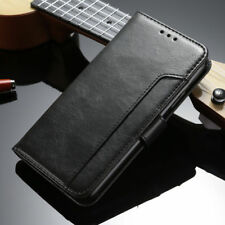 For iPhone X 5 6 7 8 Luxury Flip Leather Men's Wallet Card Stand Case Full Cover