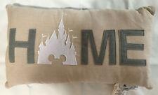 Disney Parks Exclusive Magic Kingdom Cinderella Castle Home Pillow Brand New