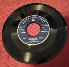 Miller Sisters / The Playmakers  Little Drummer Boy  The Chipmunk Song 1958 Bell