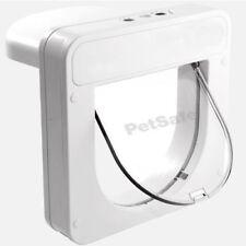 Staywell Petsafe Petporte Pet PORTE smart Flap Microchip Gatto Flap Bianco Porta