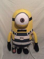 Huge 28-30� Jail One Eye Minion Plush Stuffed Animal Despicable Me 2 3 Movie