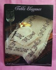 Stony Creek Collection ~ Counted Cross Stitch Book # 40- Table Elegance
