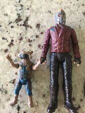 Marvel Legends Guardians of the Galaxy Star-Lord Rocket Raccoon Action Figures