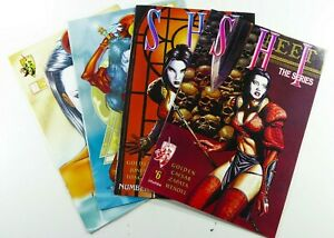 Crusade Studios SHI:THE SERIES (1997) #5 6 10 + VARIANT Lot VF/NM Ships FREE!
