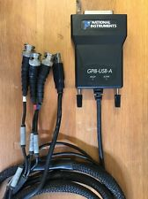 National Instruments GPIB-USB-A w/3 BNC's