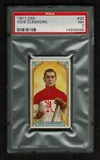 PSA 7 ODIE CLEGHORN 1911 C55 Hockey Card #25  (Only 3 Cards Graded Higher)
