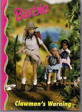 1999 - Barbie'S Children's Book - Clawman's Warning !