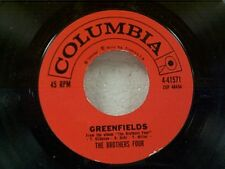 """BROTHERS FOUR """"GREENFIELDS / ANGELIQUE-O"""" 45"""