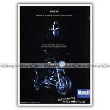 PUB BUELL M2 CYCLONE - Ad / Publicité Moto de 2000 #2