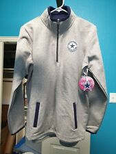 Dallas Cowboys Jacket Club Collection Half Zip NFL Grey - Size L - New, Tags