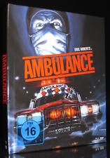 BLU-RAY + DVD - AMBULANCE - MEDIABOOK - HORROR-KLASSIKER von LARRY COHEN * NEU *