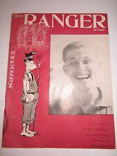 1958 TEXAS RANGER MAGAZINE -TUB OFC
