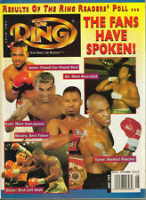 THE RING BOXING MAGAZINE MIKE TYSON LEMUEL NELSON MICHAEL GRANT ANTWUN ECHOLS +!