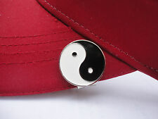 Yin Yang Golf Ball Marker - W/Bonus Magnetic Hat Clip