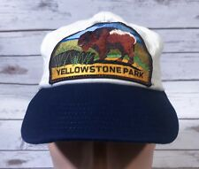 Vintage HUGE PATCH Yellowstone National Park Made in the USA K Brand Products