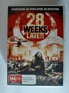 28 WEEKS LATER DVD Zombie Movie Horror - REGION AUST