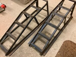 Pair of Car Service Ramps - Workshop / Garage / Inspection